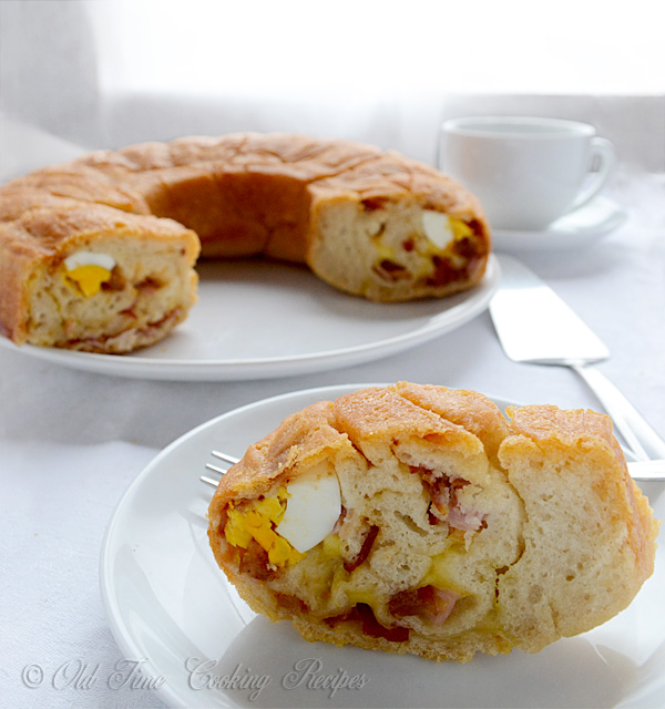 Tortano Or Casatiello Italian Easter Bread